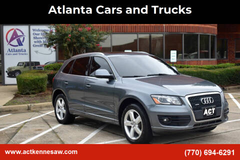 2012 Audi Q5 for sale at Atlanta Cars and Trucks in Kennesaw GA