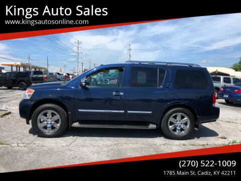 2010 Nissan Armada for sale at Kings Auto Sales in Cadiz KY