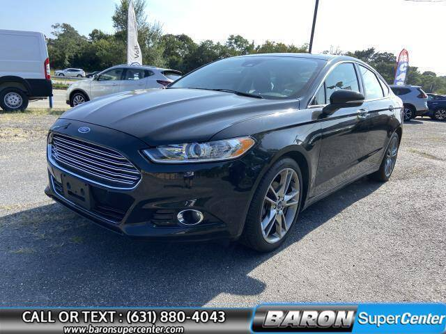 2013 Ford Fusion for sale at Baron Super Center in Patchogue NY