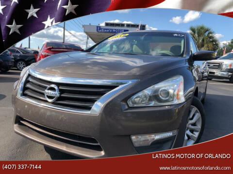 2015 Nissan Altima for sale at LATINOS MOTOR OF ORLANDO in Orlando FL