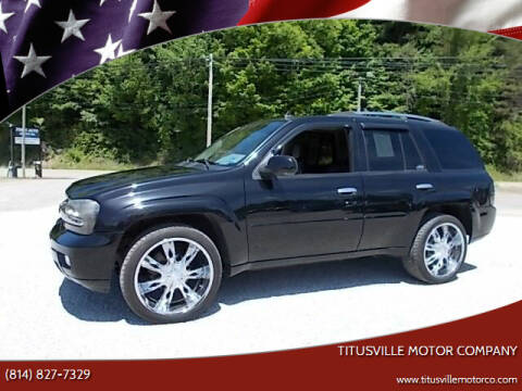 2008 Chevrolet TrailBlazer for sale at Titusville Motor Company in Titusville PA