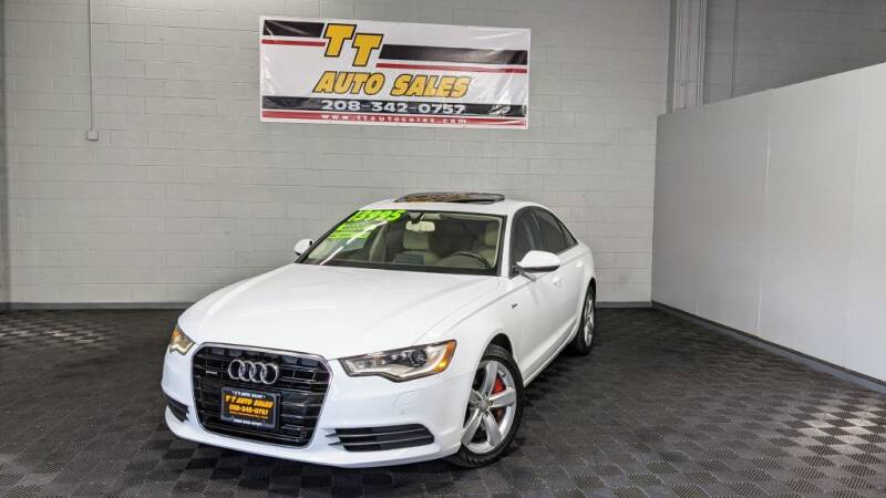 2012 Audi A6 for sale at TT Auto Sales LLC. in Boise ID