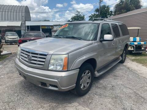 2004 Cadillac Escalade ESV for sale at Mid City Motors Auto Sales - Mid City North in N Fort Myers FL