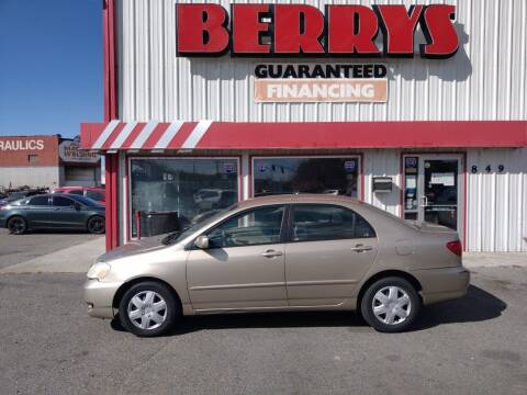 2006 Toyota Corolla for sale at Berry's Cherries Auto in Billings MT