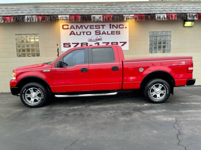 2008 Ford F-150 for sale at Camvest Inc. Auto Sales in Depew NY