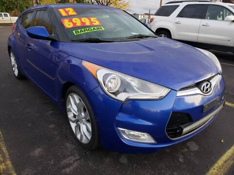2012 Hyundai Veloster for sale at Low Price Auto and Truck Sales, LLC in Salem OR
