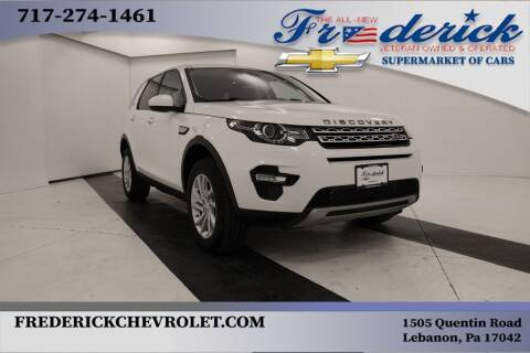 2017 Land Rover Discovery Sport for sale at Lancaster Pre-Owned in Lancaster PA