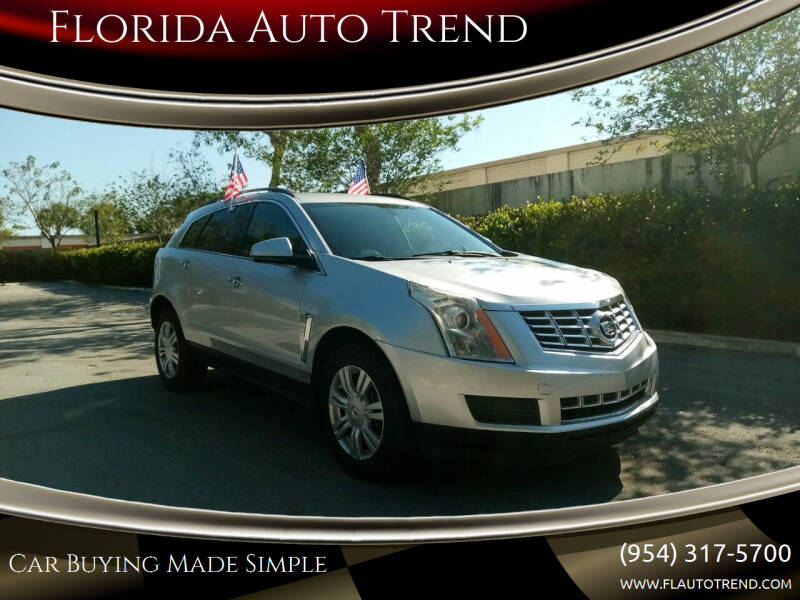 2014 Cadillac SRX for sale at Florida Auto Trend in Plantation FL