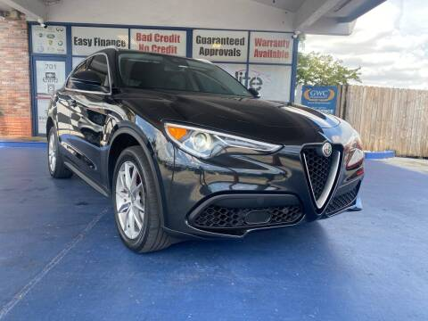 2018 Alfa Romeo Stelvio for sale at ELITE AUTO WORLD in Fort Lauderdale FL