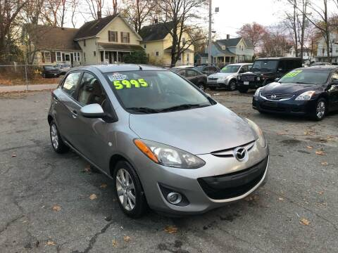 2013 Mazda MAZDA2 for sale at Emory Street Auto Sales and Service in Attleboro MA