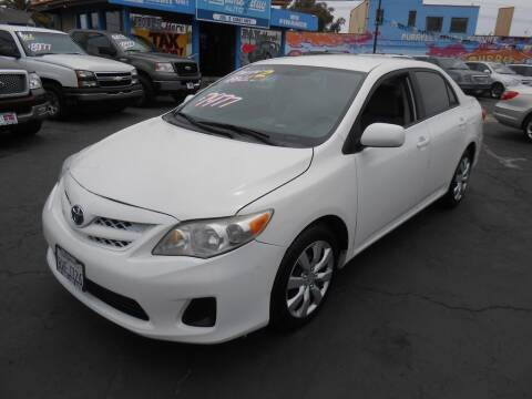 2012 Toyota Corolla for sale at ANYTIME 2BUY AUTO LLC in Oceanside CA