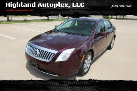 2011 Mercury Milan for sale at Highland Autoplex, LLC in Dallas TX