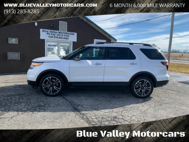 2013 Ford Explorer for sale at Blue Valley Motorcars in Stilwell KS