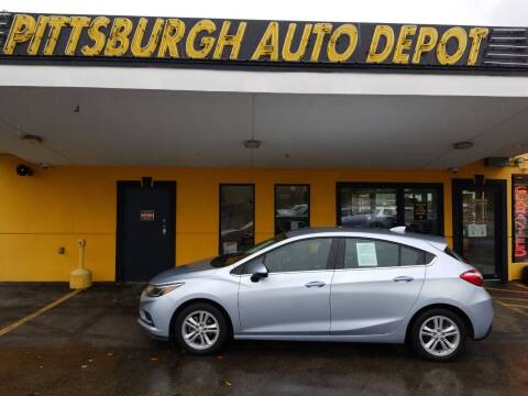 2017 Chevrolet Cruze for sale at Pittsburgh Auto Depot in Pittsburgh PA