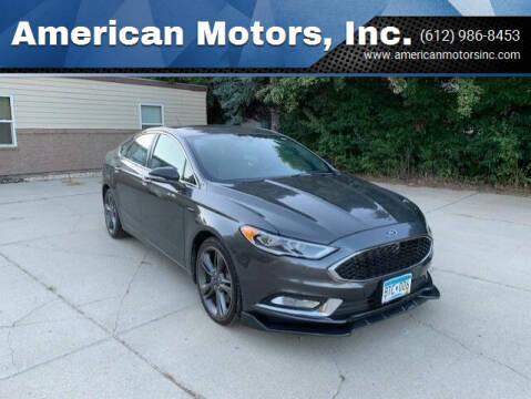 2018 Ford Fusion for sale at American Motors, Inc. in Farmington MN