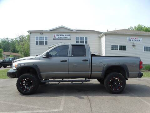 2008 Dodge Ram Pickup 1500 for sale at SOUTHERN SELECT AUTO SALES in Medina OH