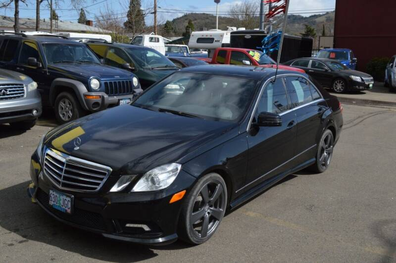 2011 Mercedes-Benz E-Class for sale at Earnest Auto Sales in Roseburg OR