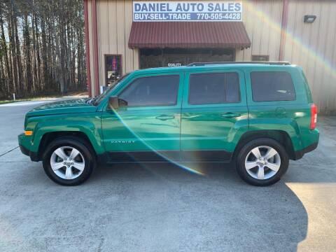 2017 Jeep Patriot for sale at Daniel Used Auto Sales in Dallas GA