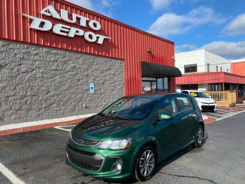 2018 Chevrolet Sonic for sale at Auto Depot of Madison in Madison TN