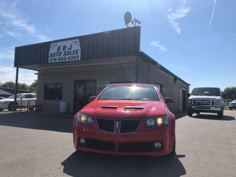 2009 Pontiac G8 for sale at B & J Auto Sales in Auburn KY