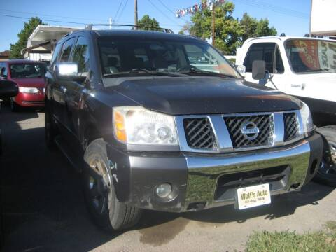 2004 Nissan Armada for sale at Wolf's Auto Inc. in Great Falls MT