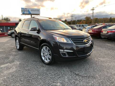 2015 Chevrolet Traverse for sale at Mass Motors LLC in Worcester MA