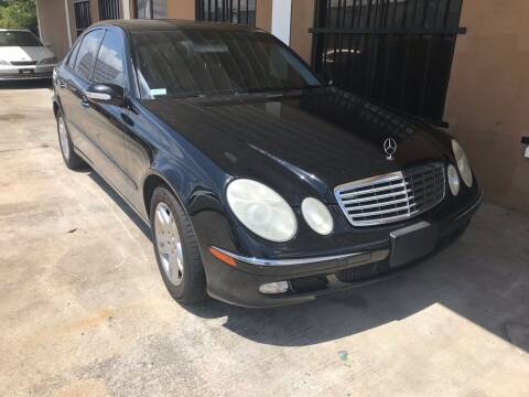 2005 Mercedes-Benz E-Class for sale at Eastside Auto Brokers LLC in Fort Myers FL