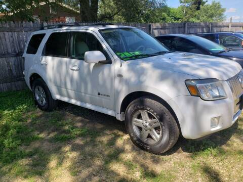 2008 Mercury Mariner Hybrid for sale at Northwoods Auto & Truck Sales in Machesney Park IL