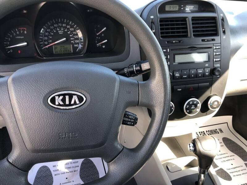 2009 Kia Spectra EX 4dr Sedan 4A - Rochelle IL