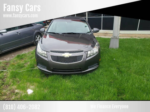 2011 Chevrolet Cruze for sale at Fansy Cars in Mount Morris MI
