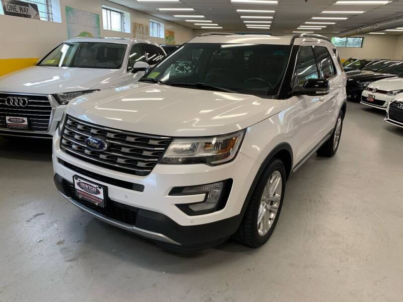 2016 Ford Explorer for sale at Newton Automotive and Sales in Newton MA