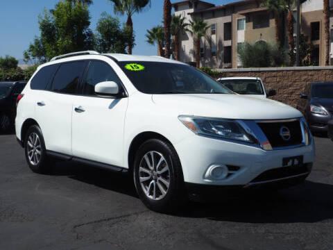 2015 Nissan Pathfinder for sale at Corona Auto Wholesale in Corona CA