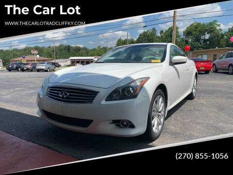 2011 Infiniti G37 Coupe for sale at The Car Lot in Radcliff KY