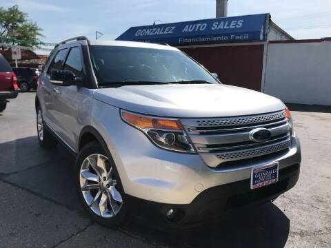 2013 Ford Explorer for sale at Gonzalez Auto Sales in Joliet IL