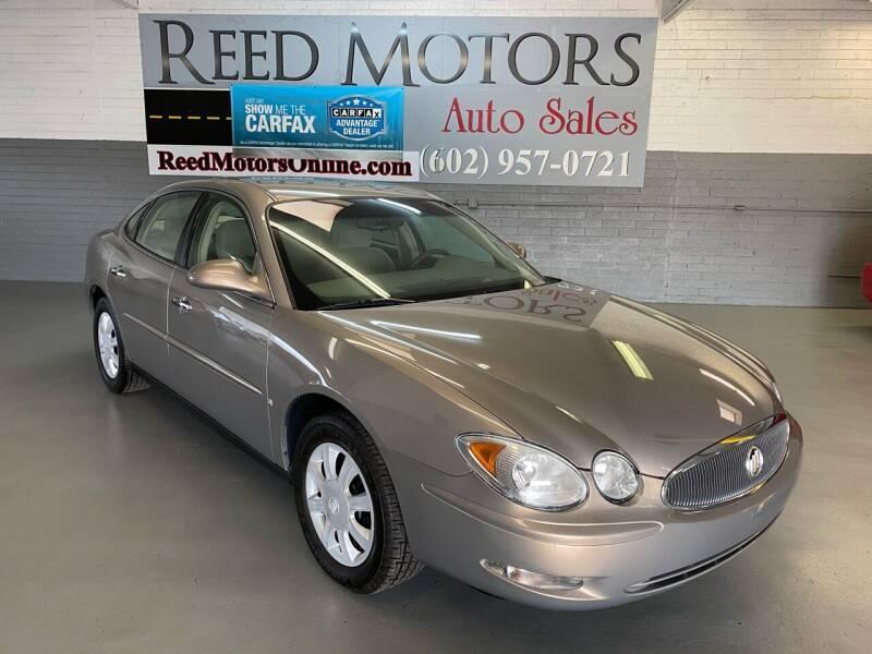 2006 Buick LaCrosse for sale at REED MOTORS LLC in Phoenix AZ