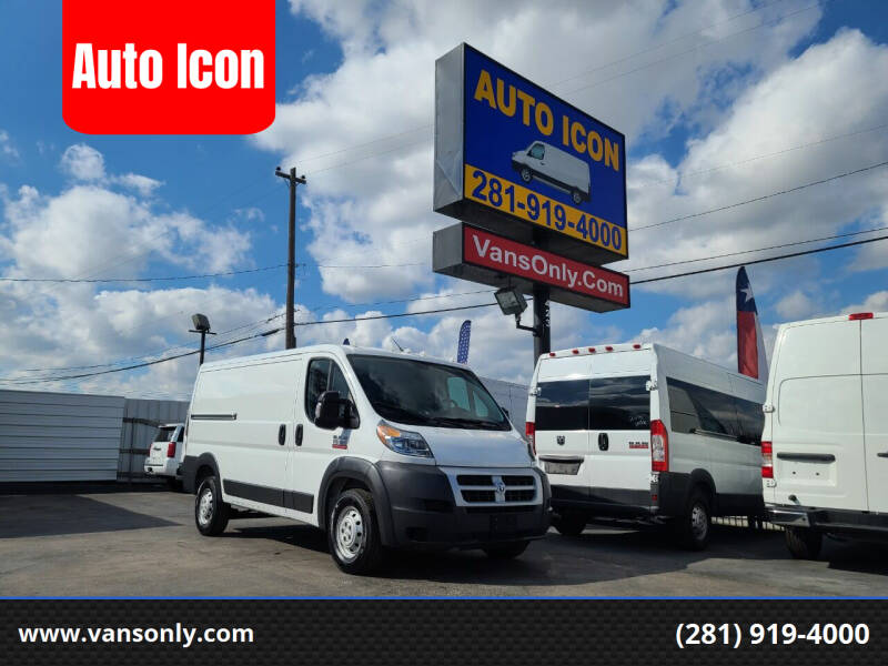 2014 RAM ProMaster Cargo for sale at Auto Icon in Houston TX