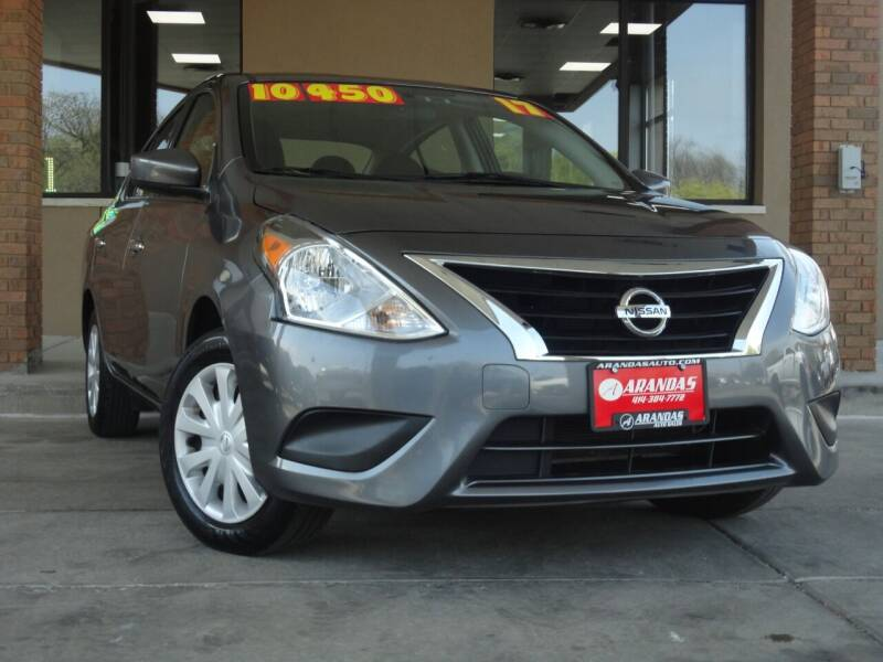 2017 Nissan Versa for sale at Arandas Auto Sales in Milwaukee WI