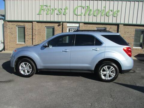 2014 Chevrolet Equinox for sale at First Choice Auto in Greenville SC