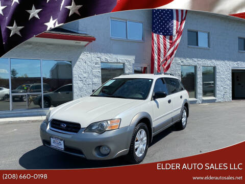 2005 Subaru Outback for sale at ELDER AUTO SALES LLC in Coeur D'Alene ID