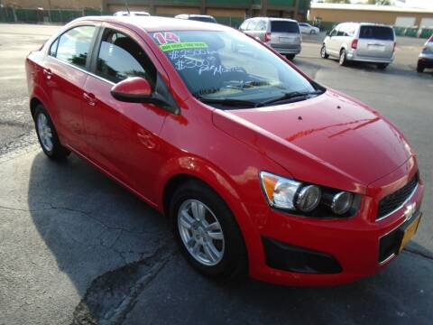 2014 Chevrolet Sonic for sale at River City Auto Sales in Cottage Hills IL