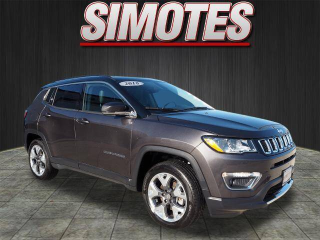2018 Jeep Compass for sale at SIMOTES MOTORS in Minooka IL