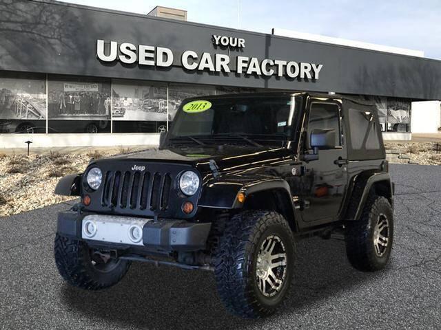 2013 Jeep Wrangler for sale at JOELSCARZ.COM in Flushing MI
