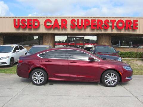 2016 Chrysler 200 for sale at Checkered Flag Auto Sales NORTH in Lakeland FL
