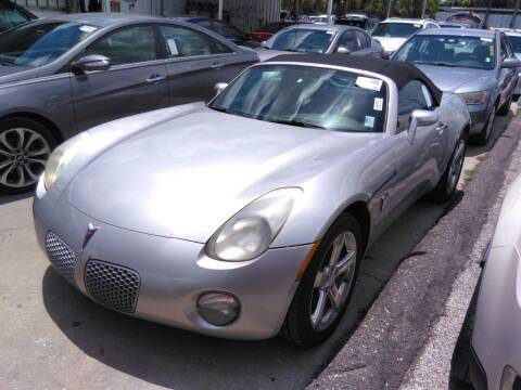 2007 Pontiac Solstice for sale at LUXURY IMPORTS AUTO SALES INC in North Branch MN