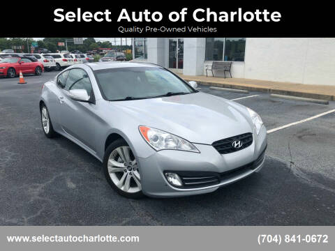 2011 Hyundai Genesis Coupe for sale at Select Auto of Charlotte in Matthews NC