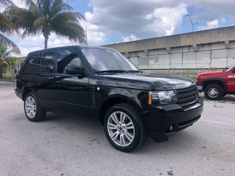 2012 Land Rover Range Rover for sale at Florida Cool Cars in Fort Lauderdale FL