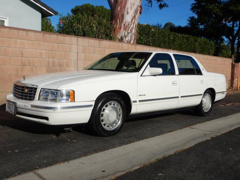 1997 Cadillac DeVille for sale at California Cadillac & Collectibles in Los Angeles CA