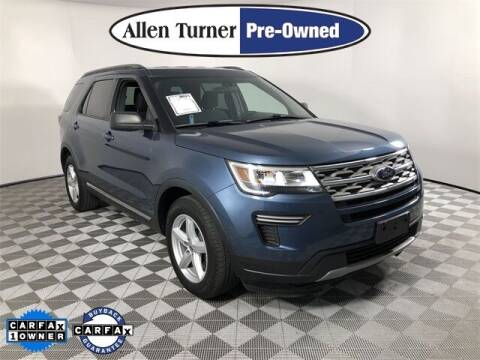 2018 Ford Explorer for sale at Allen Turner Hyundai in Pensacola FL