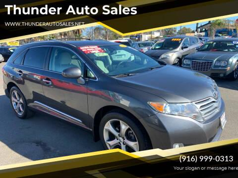 2011 Toyota Venza for sale at Thunder Auto Sales in Sacramento CA