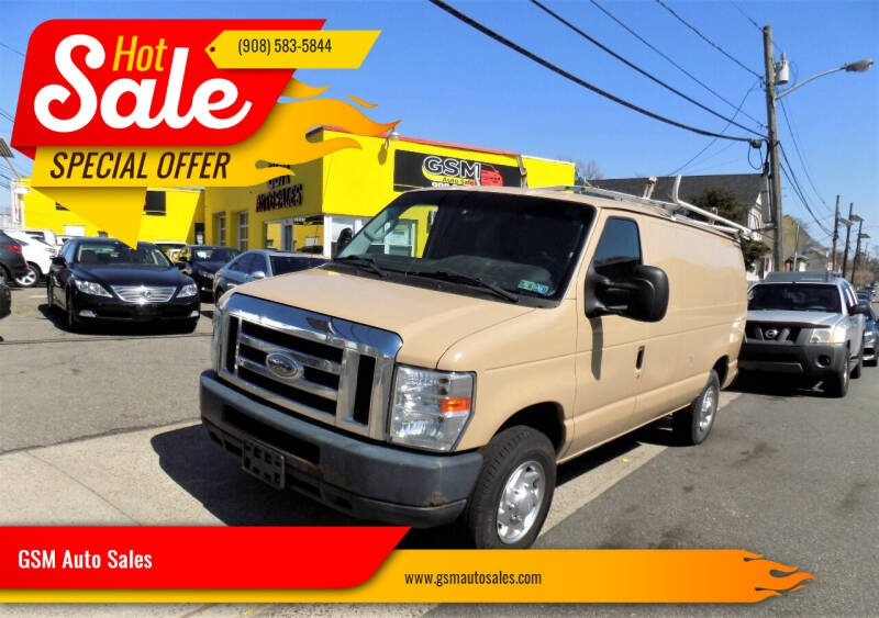 2013 Ford E-Series Cargo for sale at GSM Auto Sales in Linden NJ